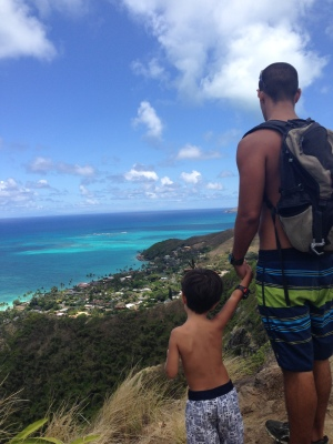 Lanikai pillbox, uma das vistas mais lindas da ilha.