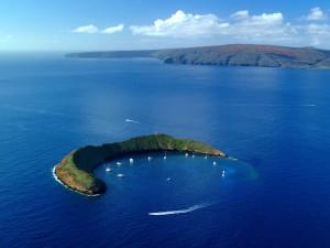 HI 020113-244Molokini Island,  MauiJanuary 13, 2002